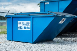 6 yard container garbage saint john commercial trash #letstalktrash #letstalktrash commercial garbage garbage pick up saint john trash saint john garbage waste removal saint john waste removal SSC Ship and Shore Support Local​ apartments garbage carts garbage containers cardboard recycling