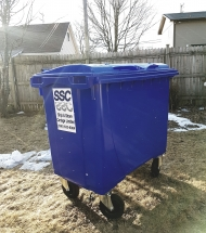 660L Container garbage saint john commercial trash #letstalktrash #letstalktrash commercial garbage garbage pick up saint john trash saint john garbage waste removal saint john waste removal SSC Ship and Shore Support Local​ apartments garbage carts garbage containers cardboard recycling