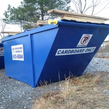 Cardboard Service recycle saint john #letstalktrash commercial garbage garbage pick up saint john trash saint john garbage waste removal saint john waste removal SSC Ship and Shore Support Local​ apartments garbage carts garbage containers cardboard recycling