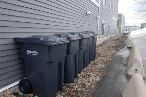 Ship Shore garbage Saint John #letstalktrash commercial #localgarbageguy #letstalktrash commercial garbage garbage pick up saint john trash saint john garbage waste removal saint john waste removal SSC Ship and Shore Support Local​ apartments garbage carts garbage containers cardboard recycling
